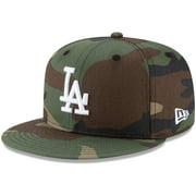 Los Angeles Dodgers New Era Basic 9FIFTY Snapback Hat - Camo - OSFA