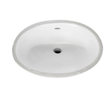 American Standard Ovalyn 19-1/4 x 16-1/4 in Undercounter Lavatory Sink in
