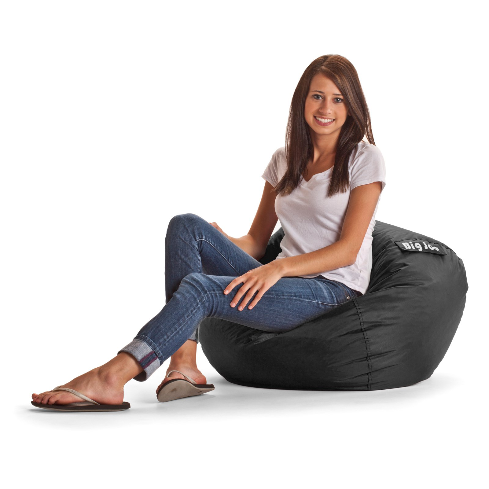 "98"" Big Joe Round Bean Bag, Available in Multiple Colors"