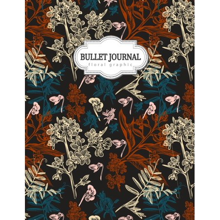 Bullet Journal: Floral Graphic: Hand Draw, Colorful Floral, Colorful Watercolor, Floral Journal, Gift for Girls, Bullet Journal and Sketch Book, Composition Book, Journal, 8.5 X 11 Inch 110 Page, Grid - Watercolor Girls