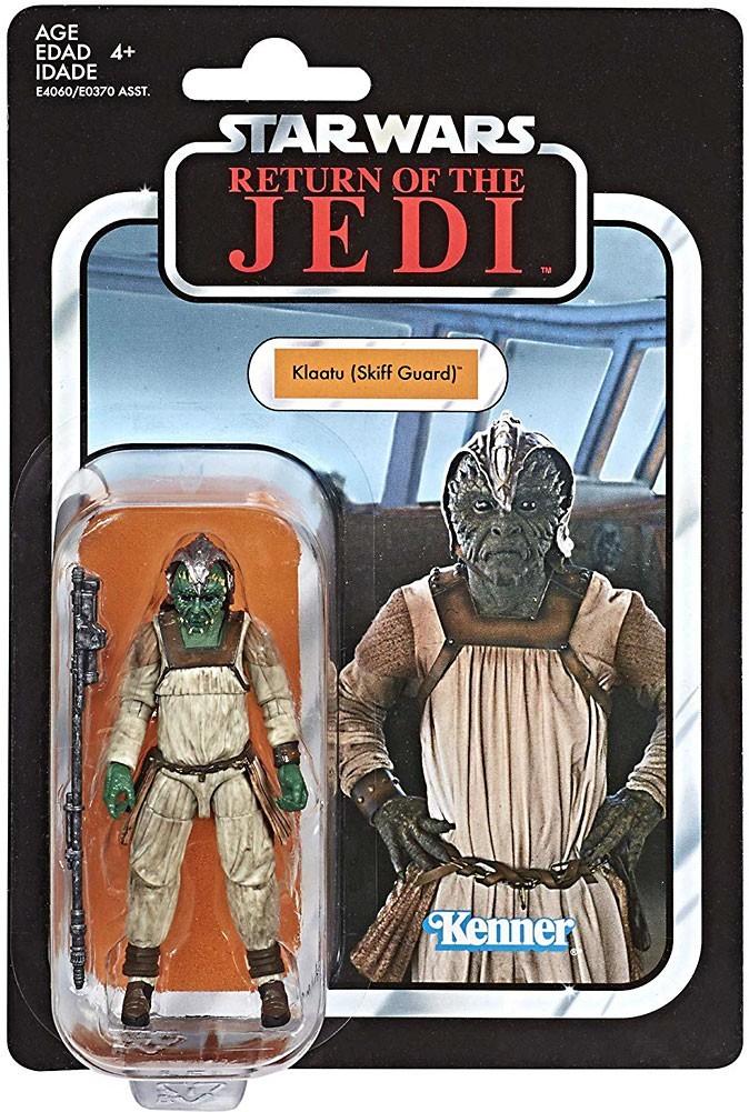 400 Best Images About Vintage Star Wars Cards On Pinterest: Star Wars The Vintage Collection Klaatu (Skiff Guard) 3.75