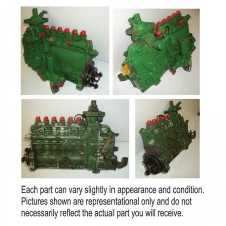 Fuel Injection Pump, Used, Bosch, PES6A-RS2380, John Deere, AR60369, AR70342, SE500202, SE500203