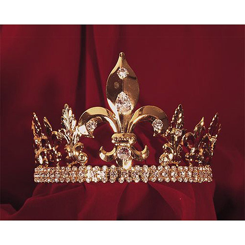 Sunnywood Fleur-De-Lis Crown Adult Halloween Accessory