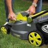 Sun Joe iON16LM-CT 40-Volt iONMAX Cordless Brushless Lawn Mower, 16-Inch, Tool Only