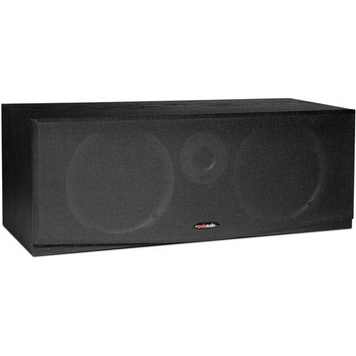 Polk CSR BLACK 2-way black center-channel speaker
