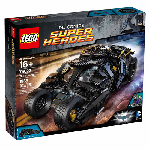 Lego Super Heroes Tumbler by LEGO Systems, Inc.