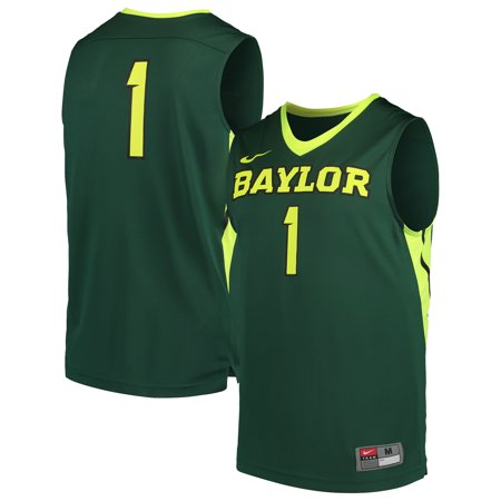 - Baylor Bears Nike College Replica Basketball Jersey - Green