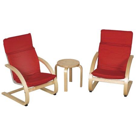ECRKids  Piece Kids Table  Chair Set Walmartcom - Walmart kids table and chair set
