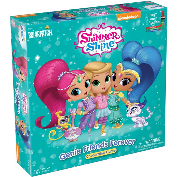 Shimmer and Shine Genie Friends Forever Board Game
