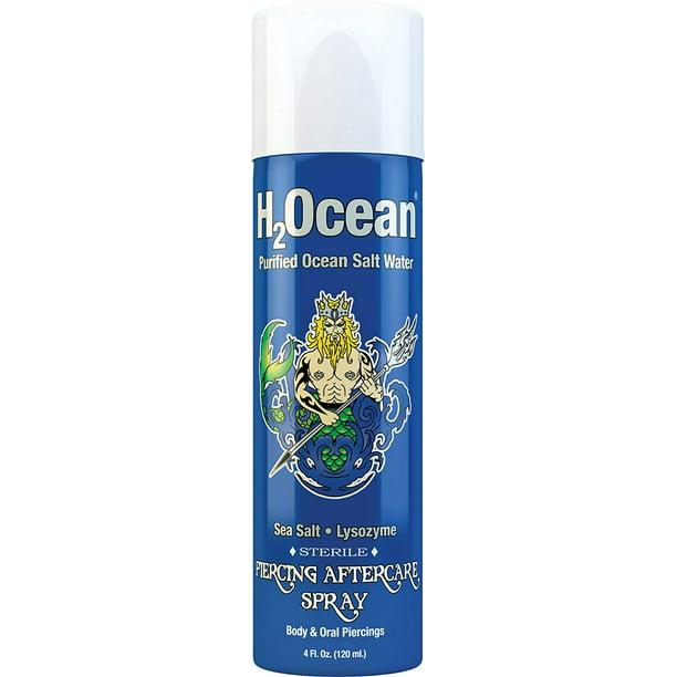 H2ocean 4oz Piercing Aftercare Spray Walmart Com Walmart Com