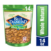 Blue Diamond Almonds, Whole Natural Raw Almonds, 14 oz