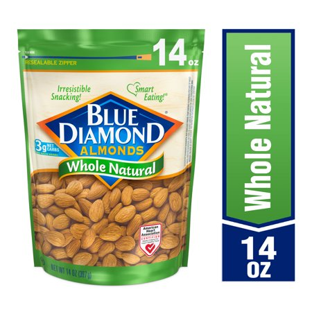 Blue Diamond Almonds Whole Natural Almonds, 14 Oz. ()