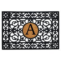Calloway Mills Rubber Monogram Outdoor Doormat 2' x 3' (Letter A)