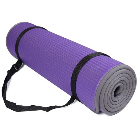 huge sale outlet on sale agreatvarietyofmodels BalanceFrom All-Purpose 2/5-Inch Extra Thick High Density Anti-Slip  Exercise Pilates Yoga Mat with Carrying Strap