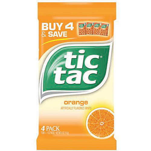 Tic Tac,Orange Mints, 4 Ct
