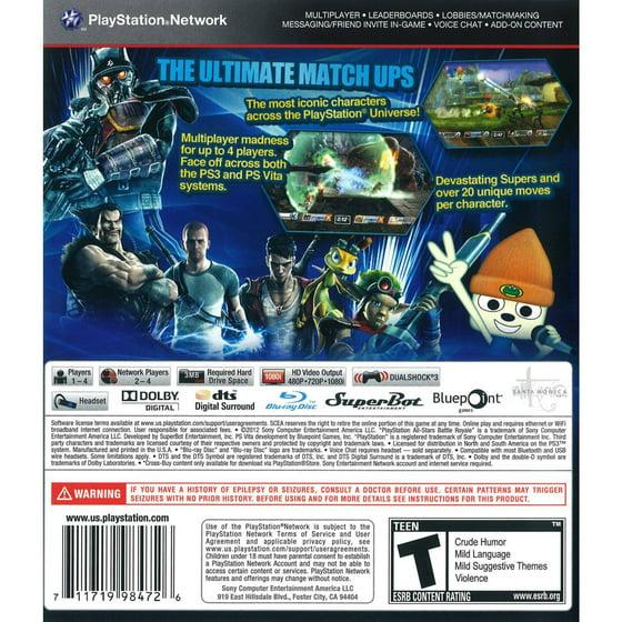 Cokem International Preown Ps3 Playstation All-stars Battle