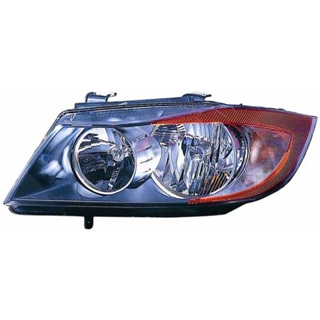 Go-Parts OE Replacement for 2006 BMW 325xi Front Headlight Assembly Housing / Lens / Cover - Left (Driver) Side - (E90 Body Code; Sedan + E90 Body Code; Wagon + E91 Body Code; Sedan + E91 Body Code; 2001 Bmw 325xi Wagon