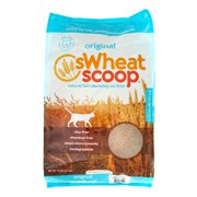 sWheat Scoop Natural Fast-Clumping Cat Litter Original, 14.0 LB