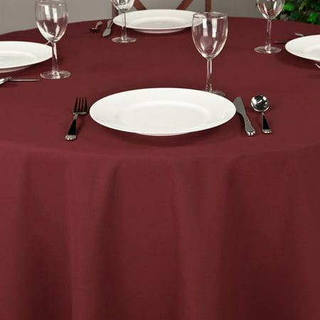 120' Round Quality Tablecloths (Riegel Premier Hotel Quality Tablecloth, 120