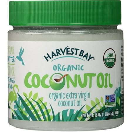Harvest Bay Coconut Oil, Extra Virgin, Organic, 16 FL