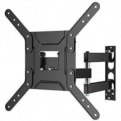 1homefurnit corner tv wall bracket mount with cantilever ...
