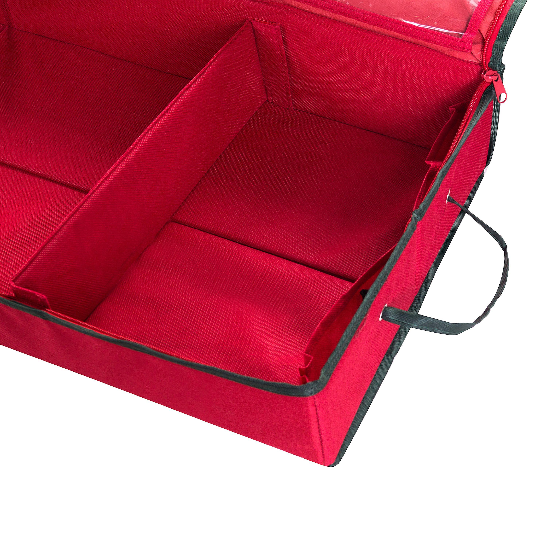 "Elf Stor Gift Wrap Organizer-Red, 40.5""X13.25""X4.5"""
