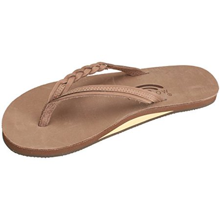 2847c34bf626 Rainbow Sandals - Rainbow Sandals Women s Flirty Braidy Sandals Dark Brown  Size Small (5.5-6.5) (Large   7.5-8.5 B(M) US) - Walmart.com
