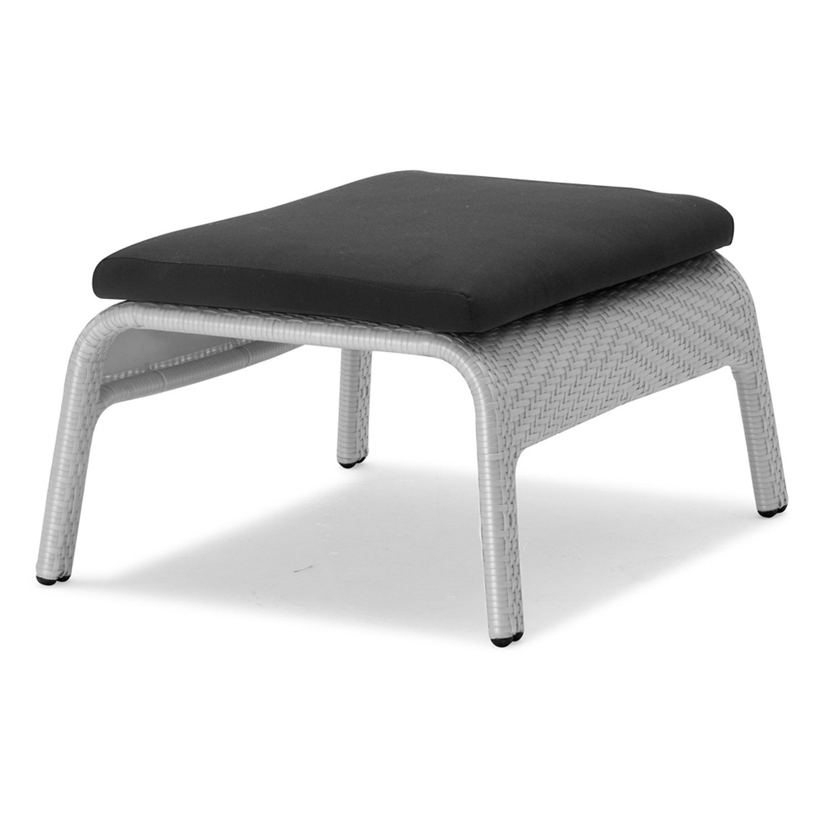 100 Essentials South Wicker Patio Foot Stool