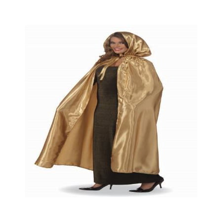 FANCY MASQUERADE CAPE-GOLD