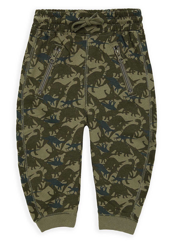 Little Boy's Dino Printed Sweatpants