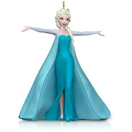 Hallmark Keepsake Ornament: Disney Frozen Let It Go Queen Elsa - Disney Storybook Ornaments