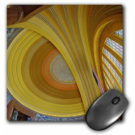 3dRose Art deco architecture, Cincinnati Museum Center, Ohio - US36 AJE0026 - Adam Jones, Mouse Pad, 8 by 8 inches