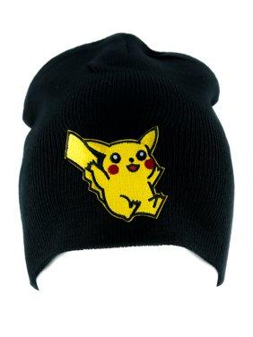 Pikachu Pokemon Go Beanie Alternative Style Clothing Knit Cap Gotta Catch em All