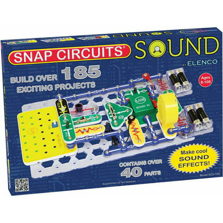 Snap Circuits Sound Electronics Discovery Kit (Snap Electronics Kit)