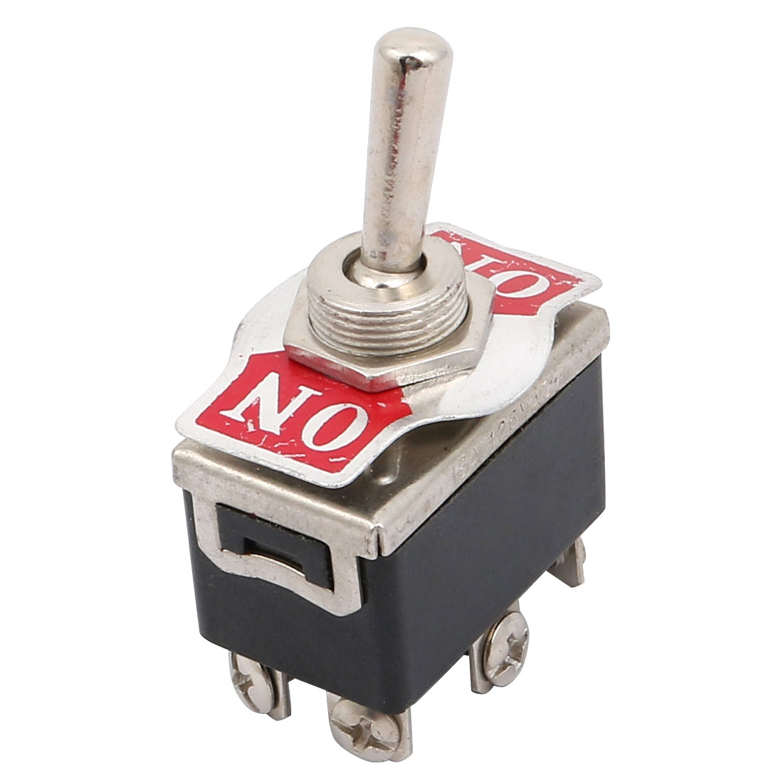 Ac 250v 10a 125v 15a Metal Handle On Dpdt Toggle Switch W 6 Screw Wiring Light Terminals