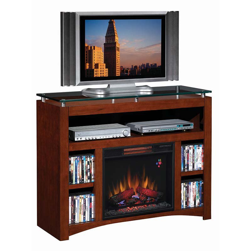 Classic Flame Monterey Media Infrared Electric Fireplace - Java