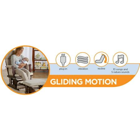 Graco Glider LX Gliding Baby Swing, Affinia