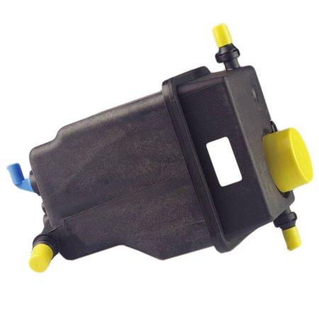 TOPAZ 17137501959 Radiator Coolant Overflow Reservoir Expansion Tank Bottle w/ Sensor for BMW E53 X5 04-06