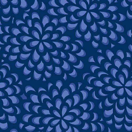 "Springs Creative Rosalinda Chrysanthemum 43"" wide Fabric by the Yard"