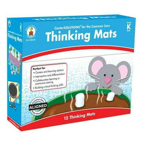 Thinking Mats, Grade K Math - Walmart.com