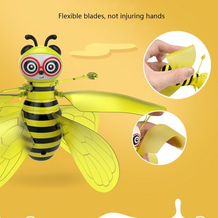 Insect Toys RC Infrared Induction Drone Helicopter LED ...