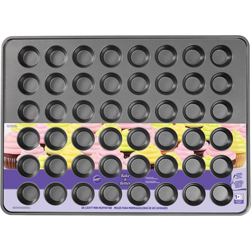 Wilton Bake it Better 48-Cup Mini Muffin Pan, 15 in. x 21 in.