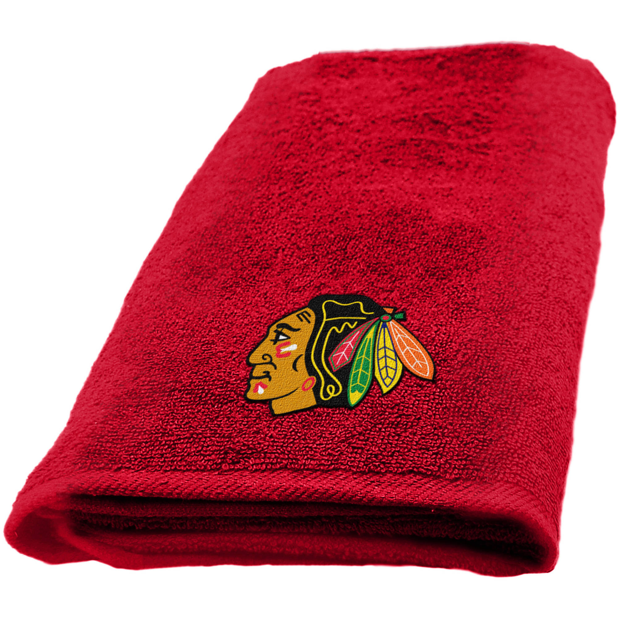 "NHL Chicago Blackhawks 15"" x 26"" Applique Hand Towel, 1 Each"