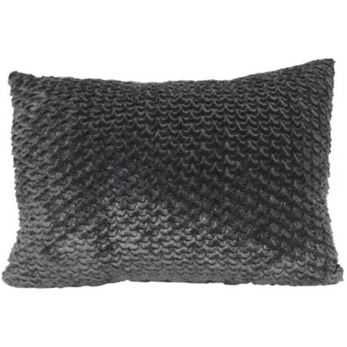 your zone scallop pillow, black
