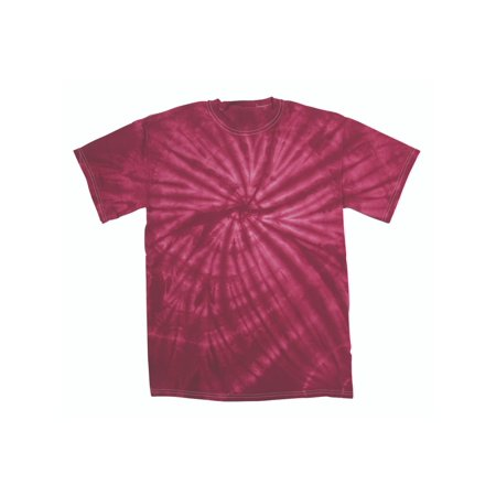Faded Cyclone Pattern Youth Unisex Big Boys Big Girls Tie Dye T-Shirt Tee