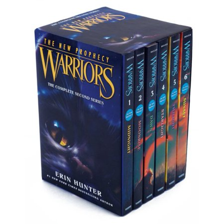 Warriors  The New Prophecy Set  The Complete Second Series