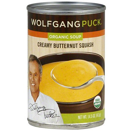 Wolfgang Puck Organic Creamy Butternut Squash Soup, 14.5 oz (Pack of
