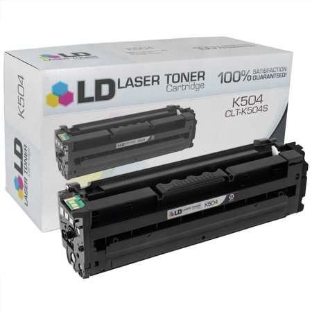 LD Compatible Replacement for Samsung CLT-K504S Black Laser Toner Cartridge for use in Samsung CLP-415NW, CLX-4195FN,