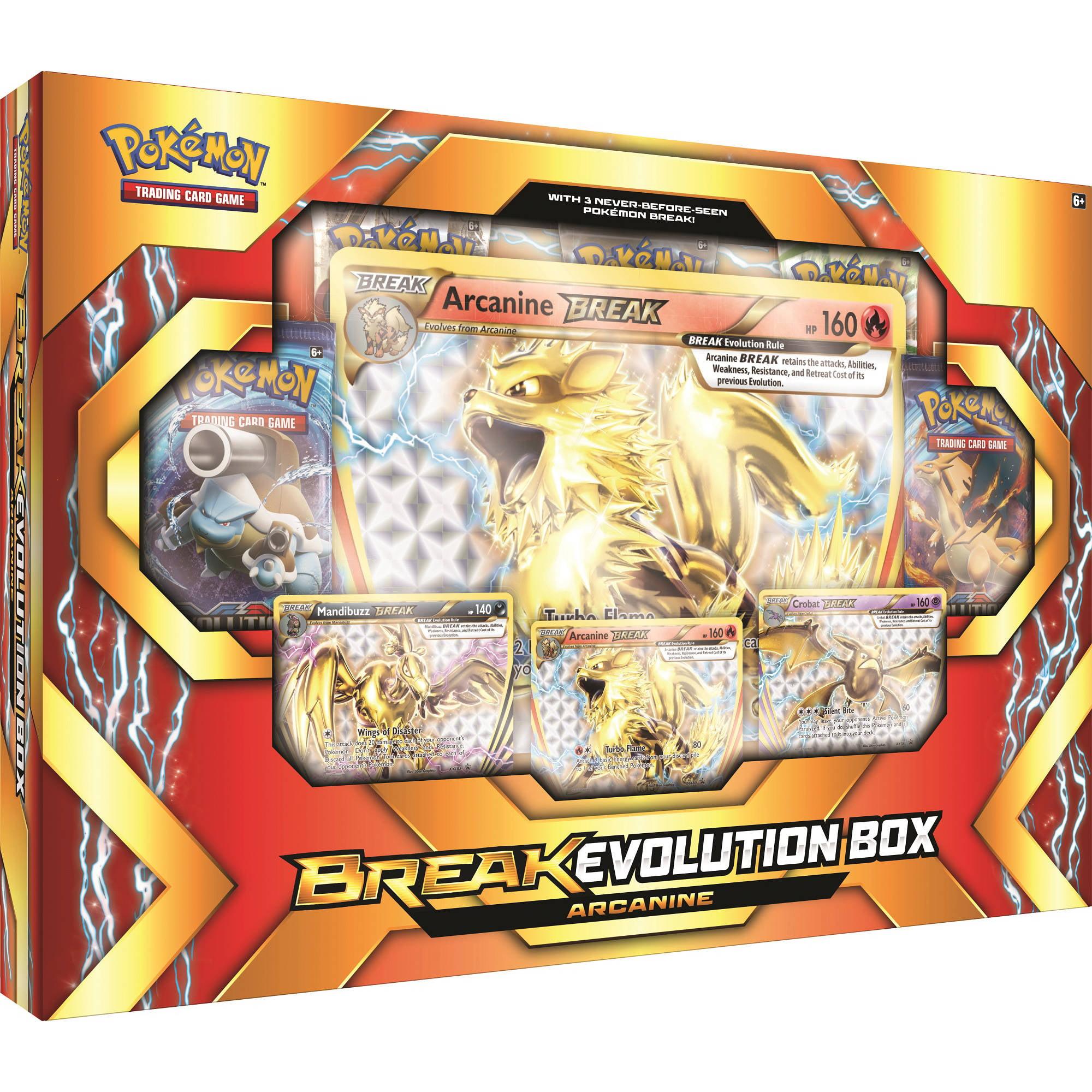 POKEMON 2017 BREAK EVOLUTION BOX ARCANINE