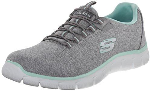 Skechers Sport Fashion Women's Heart To Heart Fashion Sport Sneaker, Grey Mint 9b3b4c